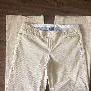 Gap Original Flair Stretch Pinstripe Pants 4